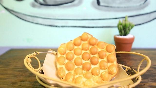 Bánh trứng gà non Hongkong