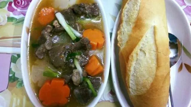 Bò hầm cà rốt