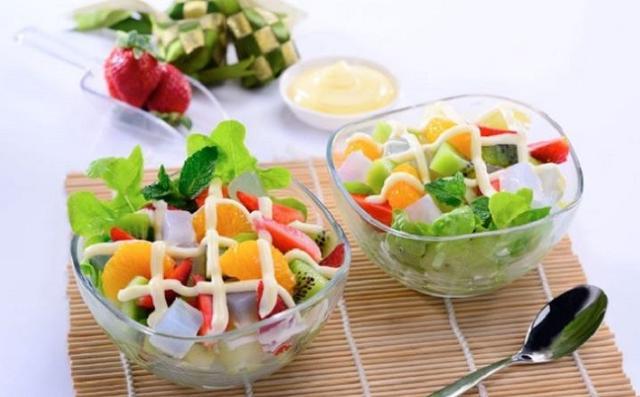 Salad hoa quả trộn giảm cân