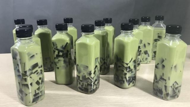 Trà sữa Thái đóng chai